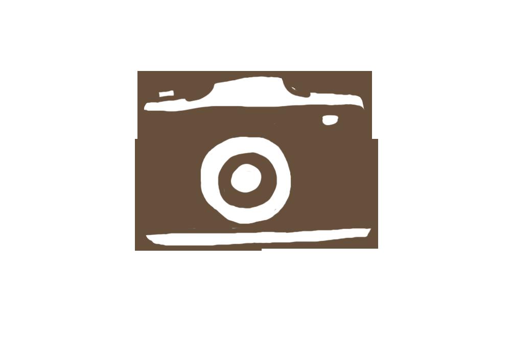 手描き風カメラのアイコンイラスト 無料フリー素材