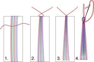 Type 1 Tassel steps
