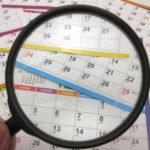 月末とは何日?月初とは?反対語や読み方・意味について